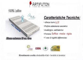SOFFIO - SCHIUMA DI LATTICE100% TRASPIRANTE CERTIFICATO