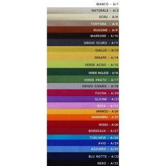 CALYPSO  100% Cotone Colorato Lavabile