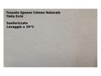 DRILL SANFOR 100% COTONE NATURALE LAVABILE